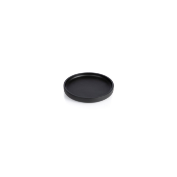 The round, extra small Nero tray