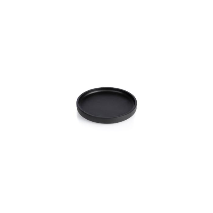 The round, extra small Nero tray