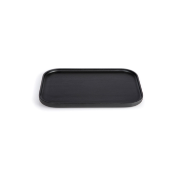 The rectangular, medium Nero tray