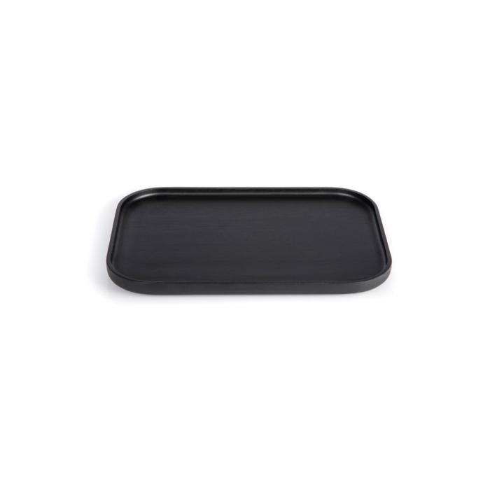 The rectangular, medium Nero tray