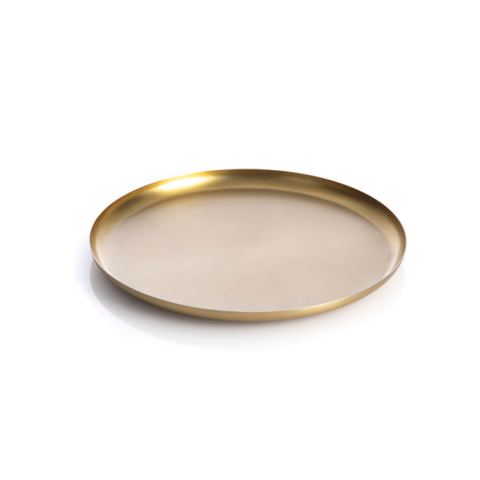 Bao tray small brass