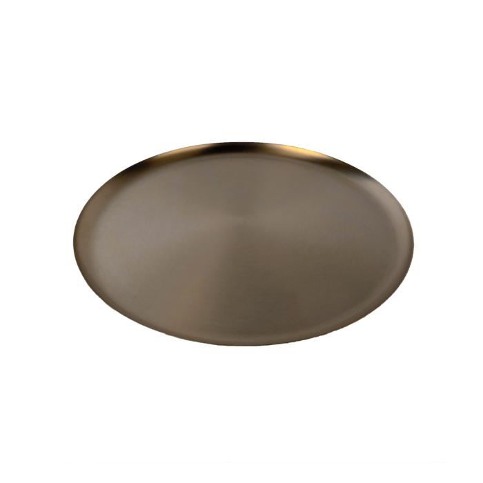 Bao tray Large black metal