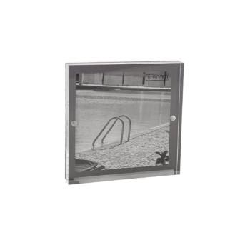 Acrylic Magnetic Frame 13x13 Dark Grey