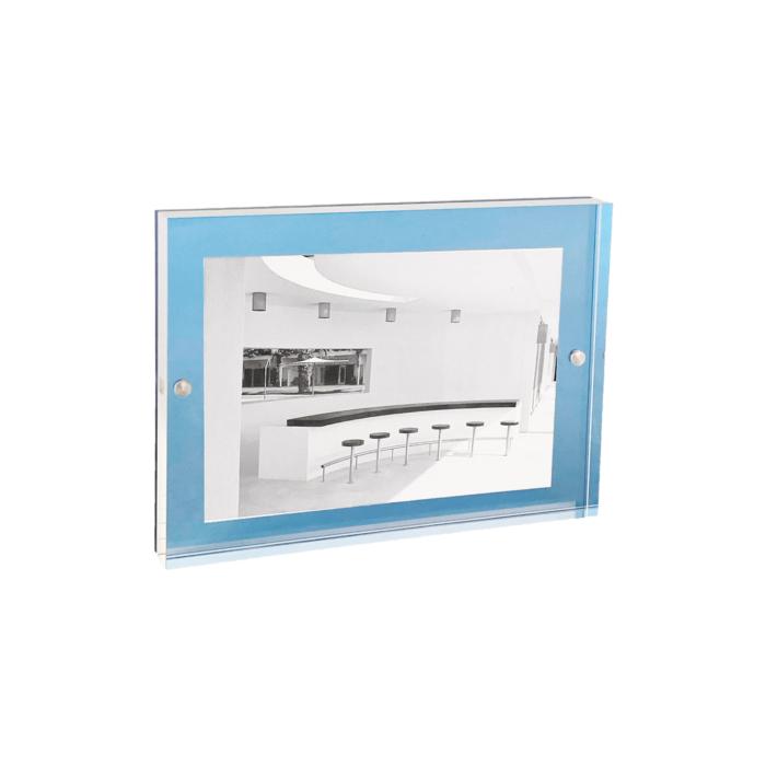 Acrylic Magnetic Frame 13x18 Sky Blue
