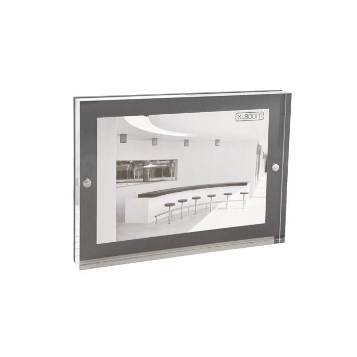 Acrylic Magnetic Frame 13x18 Dark Grey