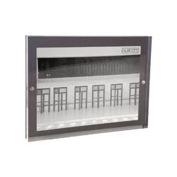 Acrylic Magnetic Frame 16x21 Dark Grey