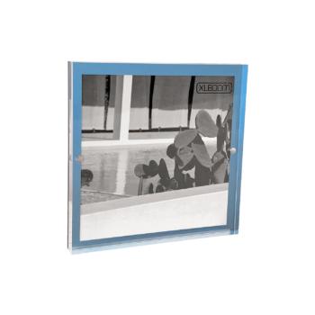 Acrylic Magnetic Frame 18x18 Sky Blue