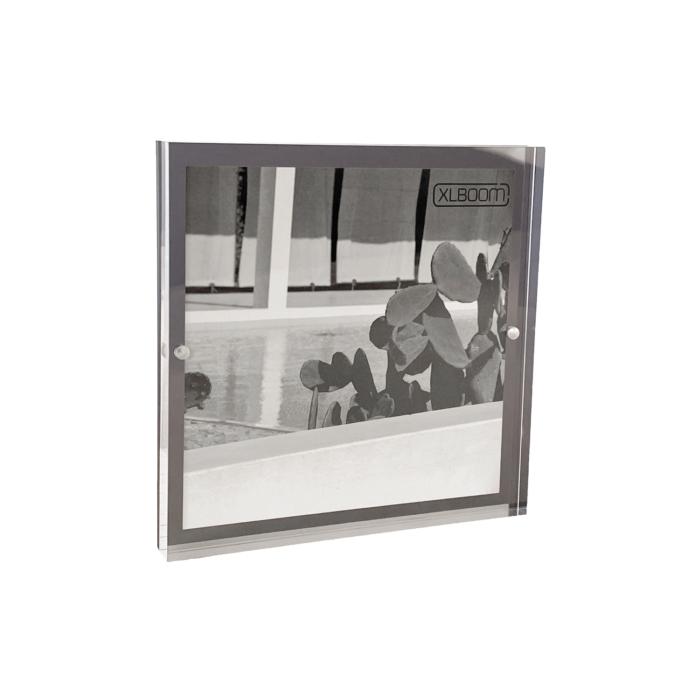 Acrylic Magnetic Frame 18x18 Dark Grey