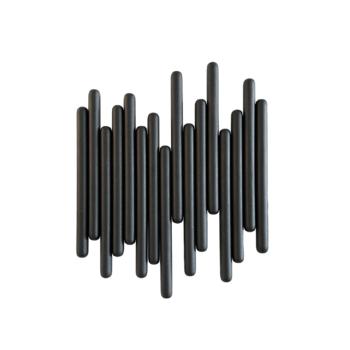 Tuub Large Black Coat Rack