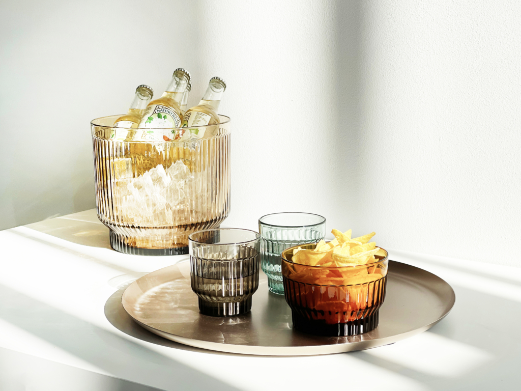Lima Tumbler glasses and bowls